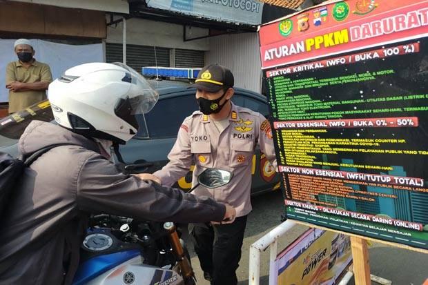 Polres Bogor Infokan 4 Titik Pemeriksaan di Cibinong, Netizen Tanya Ganjil Genap di Kota Bogor