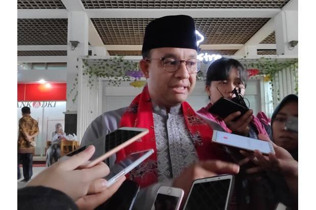 Kasus Covid-19 di Jakarta Turun, Anies: Jangan Cepat Puas