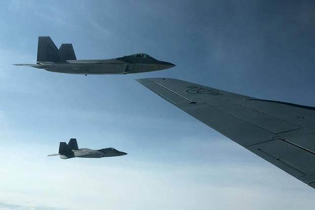 Kirim Sinyal Kuat ke China, AS Kerahkan Puluhan F-22 Raptor ke Pasifik