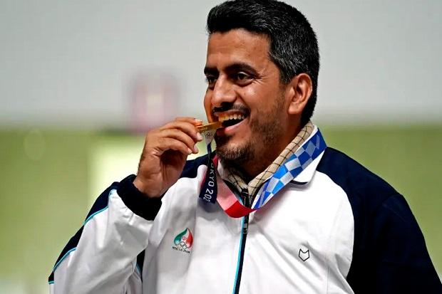 Penembak Jitu Iran Raih Medali Emas Olimpiade, Media Israel Menyebutnya Teroris