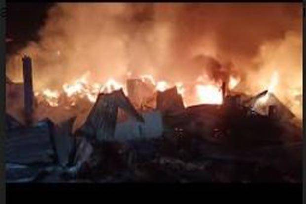 Kebakaran Gudang Gas dan Mebel di Kembangan Jakbar, Kerugian Hingga Rp1 Miliar