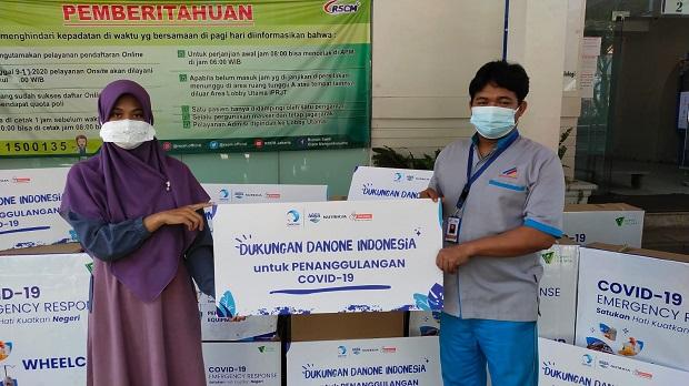 Danone-Dompet Dhuafa Inisiasi Program Covid-19 Emergency Response