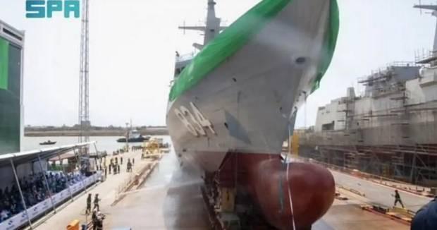Arab Saudi Luncurkan Kapal Perang Terbaru Jazan dalam Upacara di Spanyol