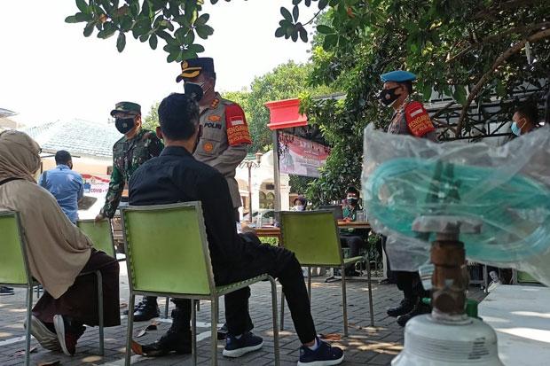 Sinergi Polres Depok dan Kodim 0508, 80 Ribu Warga Sudah Divaksin