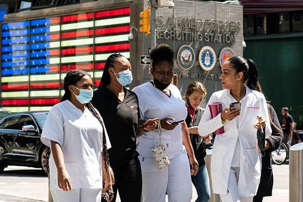 Cegah Penyebaran Varian Delta, AS Kembali Wajibkan Penggunaan Masker