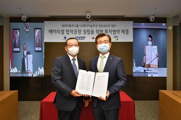 Hyundai-LG Energy Siapkan Rp16 Triliun Bangun Pabrik Baterai Mobil Listrik di Karawang