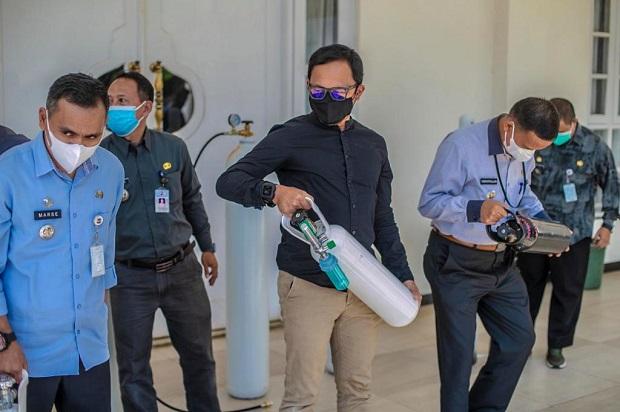 Pemkot Bogor Siapkan Isi Ulang Oksigen Gratis di Setiap Kecamatan bagi Warga Isoman