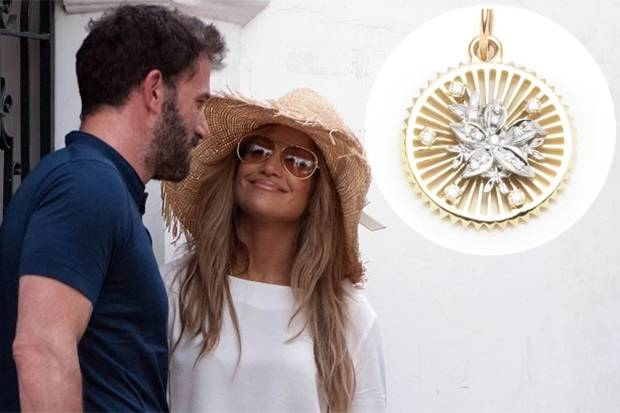 Kalung Hadiah Ulang Tahun Jennifer Lopez dari Ben Affleck Seharga Rp130 Juta, Begini Wujudnya