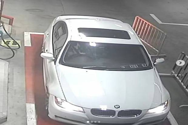 Penampakan Mobil BMW yang Kabur Tak Bayar BBM Rp600 Ribu di SPBU Kodam Bintaro