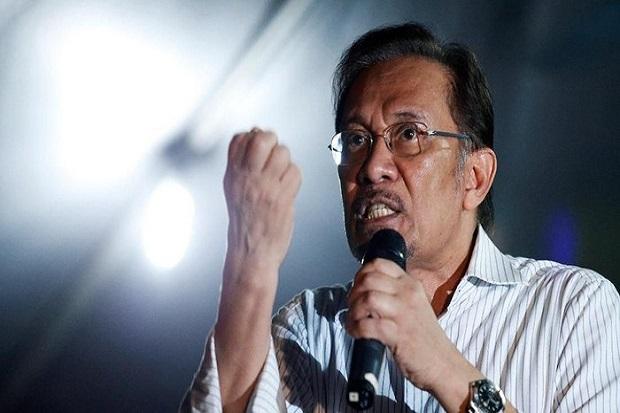 Sebut Malaysia Krisis, Anwar Ibrahim Desak PM Muhyiddin Mundur