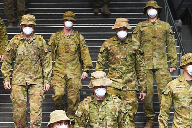Lockdown, Australia Kerahkan Militer ke Sydney