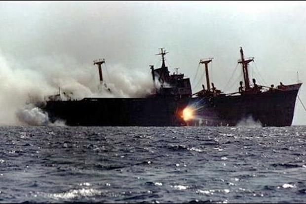 Kementerian Pertahanan Inggris: Kapal Israel Diserang di Lepas Pantai Oman