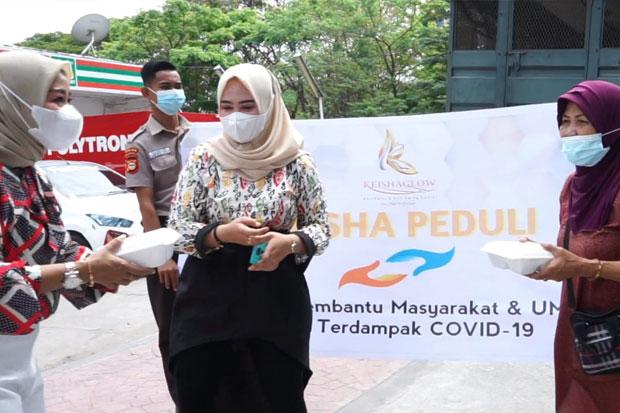 Keisha Peduli: Borong Dagangan UMKM Lalu Dibagikan ke Masyarakat Terdampak