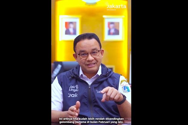 Anies: Kasus Aktif Covid-19 di Jakarta Tersisa 19 Ribu, Lebih Rendah dari Puncak Gelombang Pertama