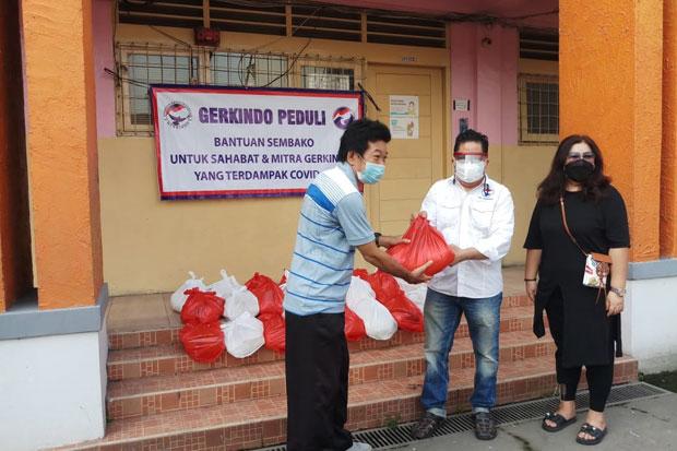 Gelar Baksos di Tanjung Priok, Gerkindo Salurkan 100 Ton Paket Sembako Selama Pandemi