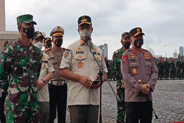 Anies Wacanakan Bukti Vaksinasi Sebagai Syarat Mobilitas di Jakarta