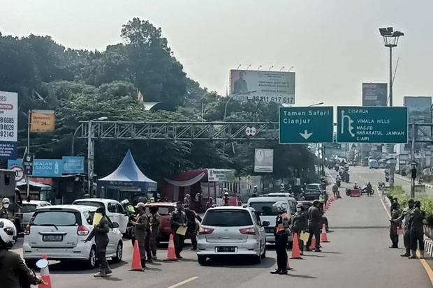 Akibat Pandemi Covid, 20 Persen PKL di Puncak Tutup