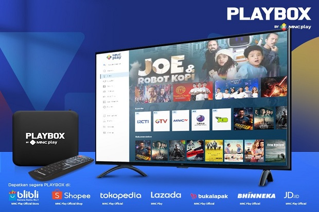 PLAYBOX, Android TV Box Satu-satunya yang Memberikan Konten Terlengkap!
