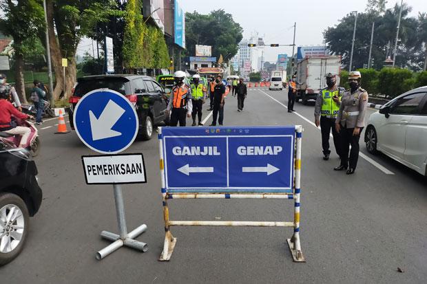 Jakarta Terapkan Ganjil Genap, Semua Titik Penyekatan di Bekasi Dibuka