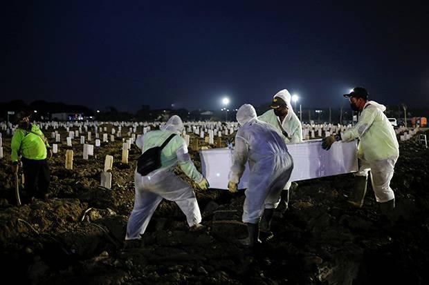 Asia Tenggara Cetak Kematian Tertinggi di Dunia Akibat Covid-19