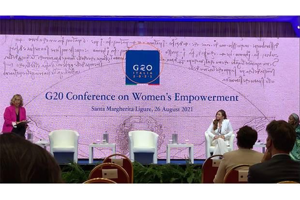 Menjadi Pembicara, Dr. Jessica Widjaja Tuai Pujian di G20 Ministerial Meeting on Women Empowerment