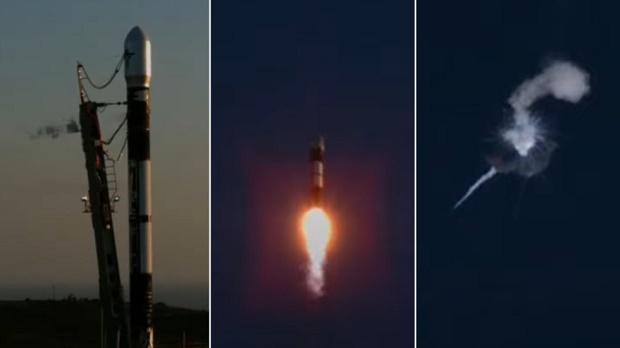 Tonton, Roket Alpha Firefly Meledak Beberapa Menit setelah Meluncur