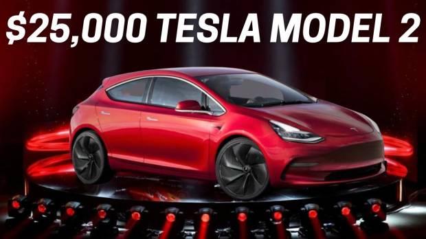 Ini Konsep Mobil Listrik Tesla Murah Harga Rp356 Juta Keinginan Elon Musk