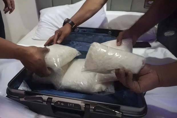 Bahan Baku Narkoba di Pabrik Sabu Karawaci Tidak Terdeteksi Sinar X-Ray