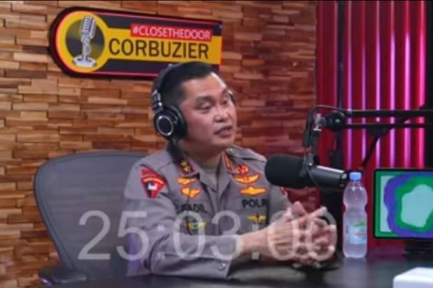Ditanya Deddy Corbuzier Soal Kasus Chat Habib Rizieq, Kapolda Metro Jaya: Itu Masih Proses Penyidikan