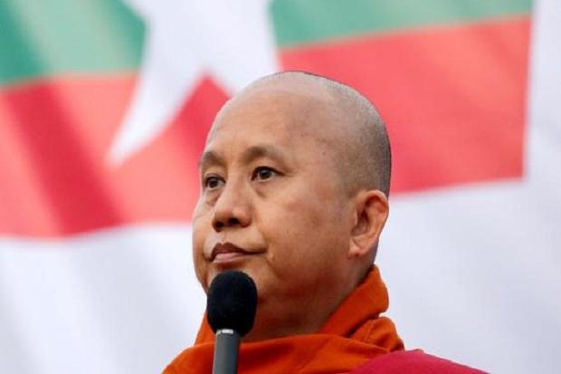 Wirathu, Biksu Anti-Muslim, Dibebaskan dari Penjara Myanmar