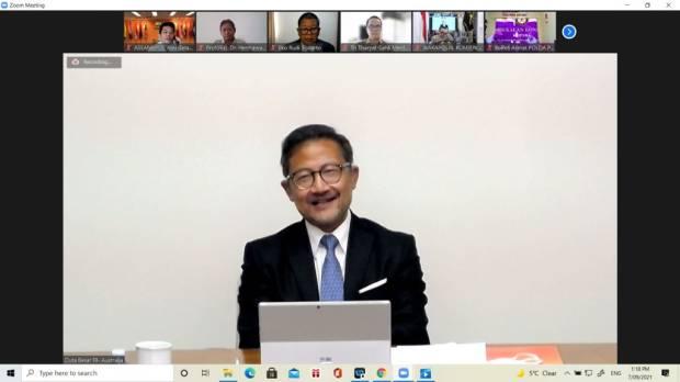 Perkuat Diplomasi Kebangsaan, KBRI Canberra Gelar Webinar Soal Pemberdayaan Papua
