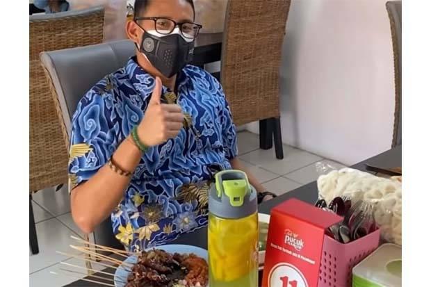 Sandiaga Uno Mampir ke Cirebon, Langsung Berburu Empal Gentong dan Sate Kambing