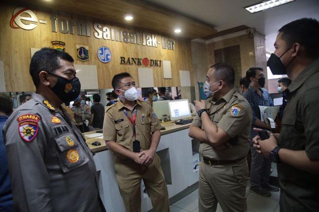 Satgas Saber Pungli Sebut Tak Ada Pungli di Samsat DKI