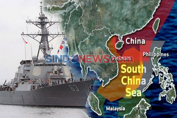 China Sahkan UU Maritim Baru, AS Kirim Kapal Perusak ke Laut China Selatan