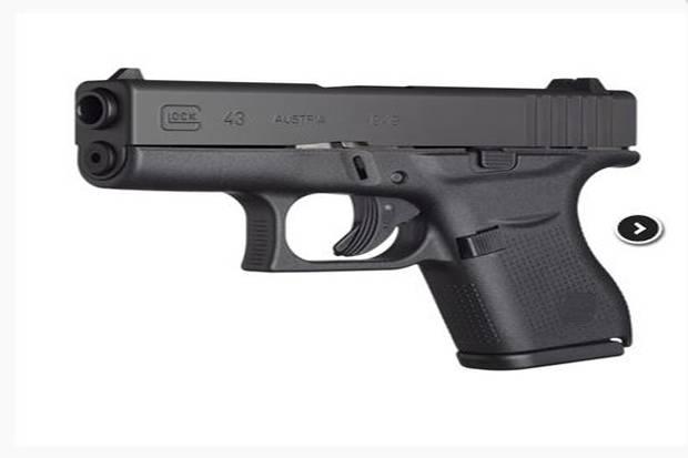 Ini Spesifikasi Senjata Api Glock 43 yang Dipakai Mahasiswa Bunuh Diri di Tangerang