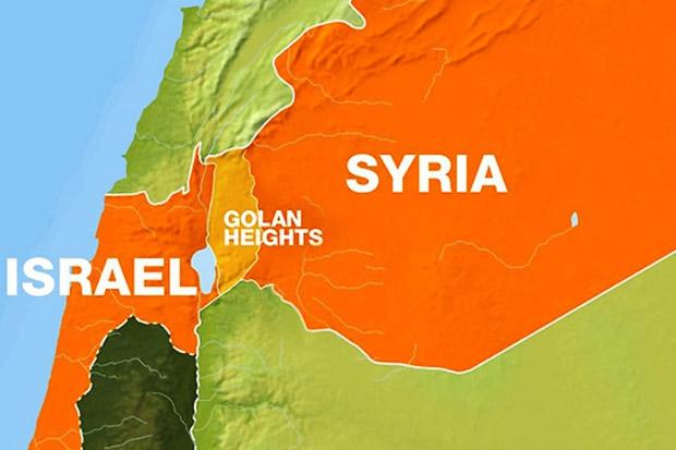 Israel Tolak Serahkan Dataran Tinggi Golan ke Suriah