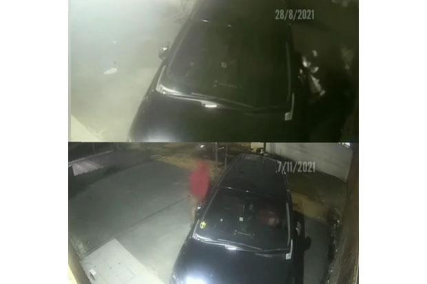 Lagi, Viral Pencurian Spion Mobil di Kebon Jeruk