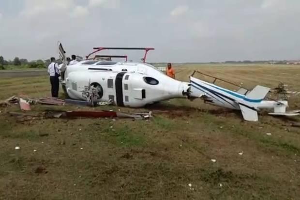 Helikopter Alami Kecelakaan di Curug Tangerang, Pilot Selamat