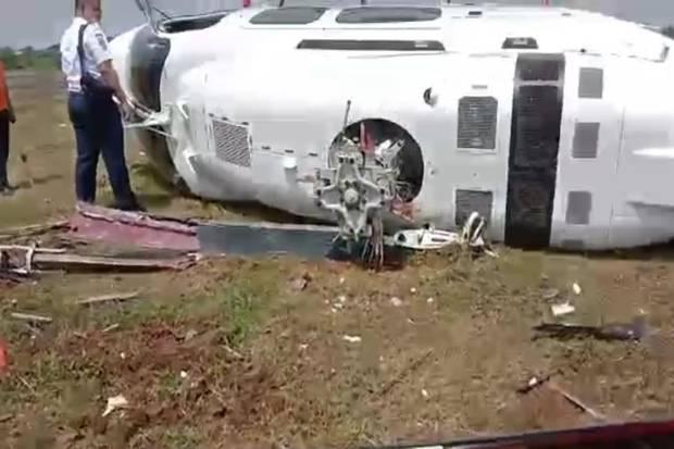 Angin dan Masalah Mesin Diduga Penyebab Kecelakaan Helikopter di Curug Tangerang