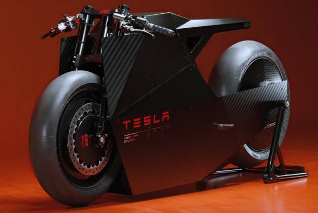 Goda Tesla, Desainer California Buat Motor Konsep Listrik Masa Depan