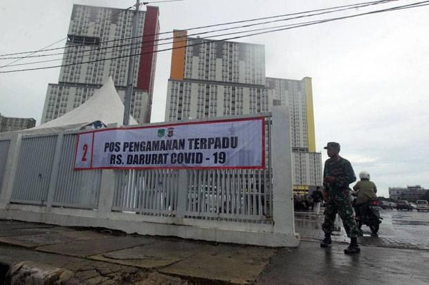 Jakarta PPKM Level 3, RSDC Wisma Atlet Kemayoran Masih Rawat 559 Pasien Covid-19