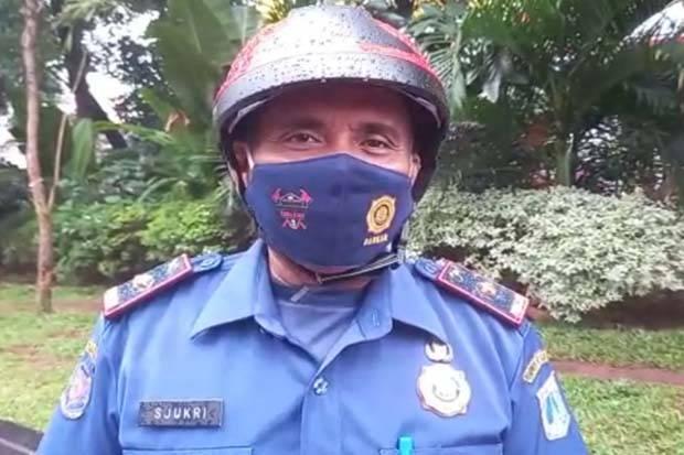 Tak Ada Korban Jiwa dalam Kebakaran Ruko di Jalan Gajah Mada