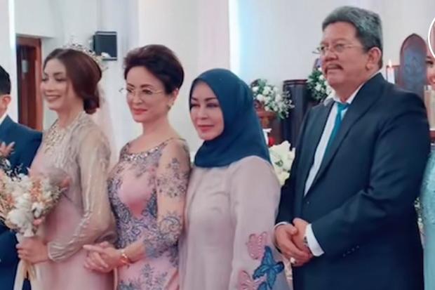 Menikah di Gereja, Ternyata Ini Agama yang Dipeluk Anak Minati Atmanegara