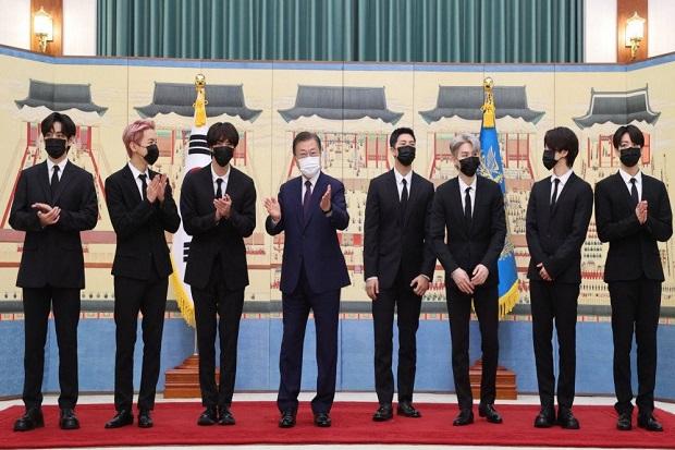 BTS Jadi Utusan Presiden Akan Hadiri Sidang Umum PBB ke-76