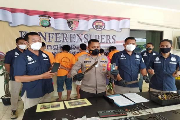 3 Kelompok Pencuri Sepeda Motor asal Bekasi Diringkus Polisi