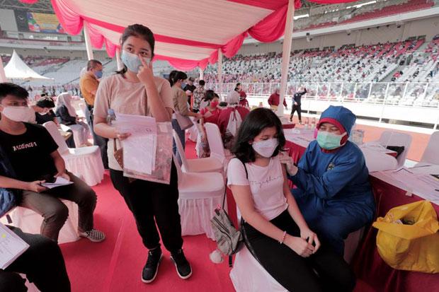 Baru 32% PelajarDivaksin, Kadinkes Kabupaten Bekasi: Vaksinasi Terus Dikebut