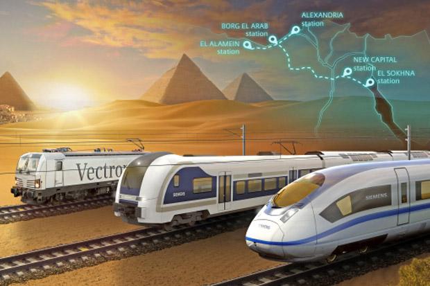 Siapkan Dana USD4,5 Miliar, Mesir Bakal Bangun Kereta Cepat