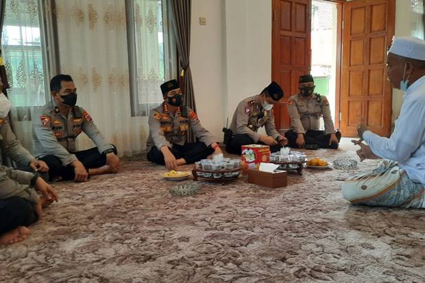 Gandeng Ponpes Syech Mubarok, Polisi Akan Vaksinasi 1.000 Santri di Tangerang
