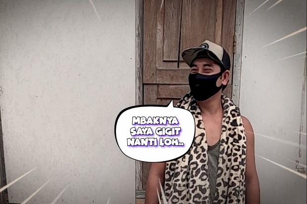 Baim Wong Borong Pentol di Rumah Teka-Teki GTV