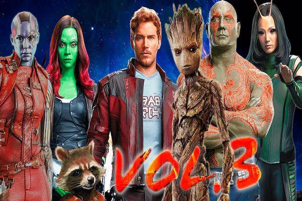 Karen Gillan dan Pom Klementieff Menangis saat Membaca Naskah Film Guardians of the Galaxy Vol. 3